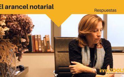 Respuestas: El arancel notarial
