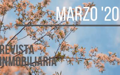Revista de Actualidad Inmobiliaria de Marzo