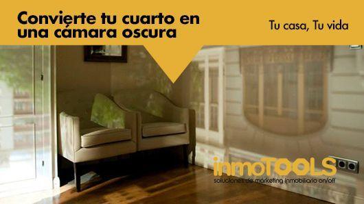 Tu casa, tu vida: Convierte tu cuarto en una cámara oscura
